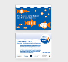Postkarte, Pillenfische